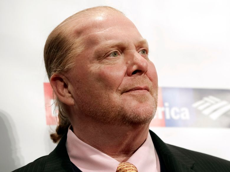 FILE – In this Wednesday, April 19, 2017, file photo, chef Mario Batali attends an awards event in New York. The Suffolk County District Attorney's Office in Boston says Batali is scheduled to be arraigned Friday, May 24, 2019, on a charge of indecent assault and battery, in connection with an allegation that he forcibly kissed and groped a woman at a Boston restaurant in 2017. (Photo by Brent N. Clarke/Invision/AP, File)
