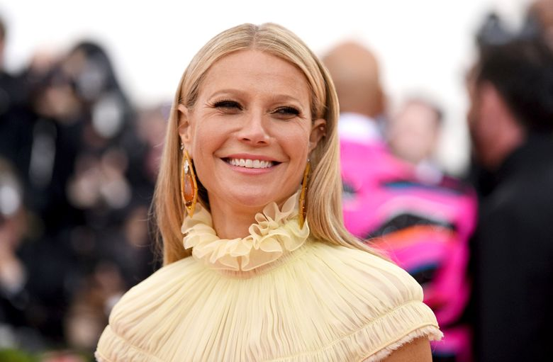 """FILE – In this May 6, 2019, file photo, Gwyneth Paltrow attends The Metropolitan Museum of Art's Costume Institute benefit gala celebrating the opening of the """"Camp: Notes on Fashion"""" exhibition in New York. Deer Valley Resort, a ski resort in Utah where Paltrow is accused of smashing into a skier, wants to be dismissed from a lawsuit that it argues should be settled between the actress and the alleged victim. (Photo by Evan Agostini/Invision/AP, File)"""