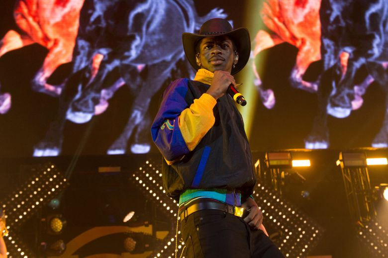 Musical artist Lil Nas X performs at HOT 97 Summer Jam 2019 at MetLife Stadium on Sunday, June 2, 2019, in East Rutherford, New Jersey. (Photo by Scott Roth/Invision/AP)