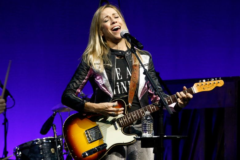 """FILE – In this Monday, Nov, 5, 2018 file photo, Sheryl Crow performs at the Elton John AIDS Foundation's 17th annual """"An Enduring Vision"""" benefit gala at Cipriani 42nd Street in New York. Singer Sheryl Crow says the original tapes of albums such as """"Tuesday Night Music Club"""" and the track """"All I Wanna Do"""" perished in a 2008 fire at Universal Music Group. Crow told the BBC Wednesday, June 26, 2019 that her master tapes and back-ups were destroyed in the blaze and that she only discovered the loss after a New York Times report revealed the extent of the damage. (Photo by Andy Kropa/Invision/AP, File)"""