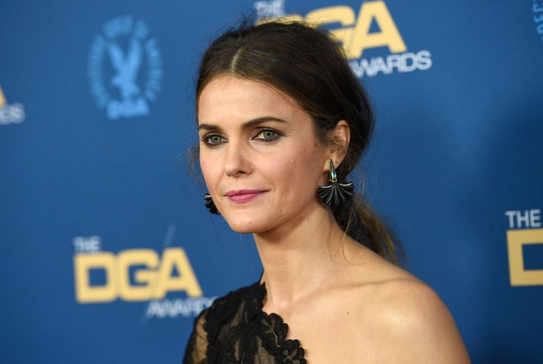 """FILE- In this Feb. 2, 2019 photo, Keri Russell arrives at the 71st annual DGA Awards at the Ray Dolby Ballroom in Los Angeles. Russell says she cried when she read J.J. Abrams' version of the script for """"Star Wars: The Rise of Skywalker."""" The actress plays a new character name Zorri Bliss in the film, which is the final chapter in the Skywalker story that started with 1977's """"Star Wars."""" (Photo by Chris Pizzello/Invision/AP, File)"""