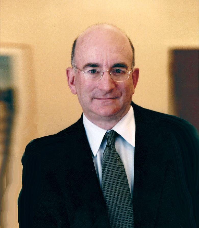 In this undated image provided by Columbia University, Professor Alan Brinkley poses for a photo. Brinkley, an influential historian and academic who traced the evolution of liberalism from the New Deal to the 21st century and was a popular commentator on culture and politics, has died at age 70. Brinkley died Sunday, June 16, 2019, at his home in Manhattan. (Columbia University via AP)