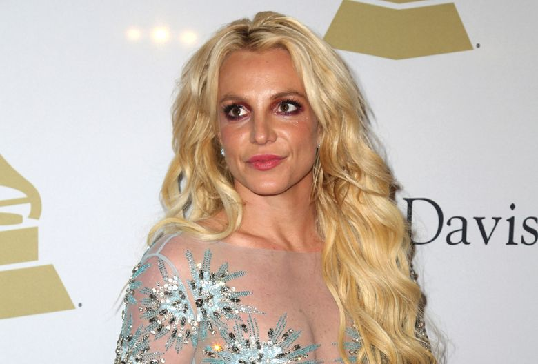 FILE – This Feb. 11, 2017 file photo shows Britney Spears at the Clive Davis and The Recording Academy Pre-Grammy Gala in Beverly Hills, Calif. The conservatorship that runs Britney Spears' affairs has sued a man who runs a Spears-themed blog for defamation. The lawsuit filed Wednesday, June 26, 2019, in Los Angeles Superior Court alleges that Anthony Elia, who writes the blog Absolute Britney, has spread falsehoods about the conservatorship. The suit says the blog falsely claimed that the conservatorship, which is run by Spears' father Jamie, was manipulating her Instagram account to make her appear more troubled and in need of help than she actually is. (Photo by Rich Fury/Invision/AP, File)