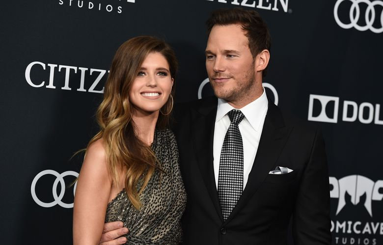 """FILE – In this April 22, 2019, file photo, Katherine Schwarzenegger, left, and Chris Pratt arrive at the premiere of """"Avengers: Endgame,"""" at the Los Angeles Convention Center. In an Instagram post Sunday, June 9, 2019, Pratt announced that he and Schwarzenegger were married the day before in a ceremony that was """"intimate, moving and emotional."""" (Photo by Jordan Strauss/Invision/AP, File)"""