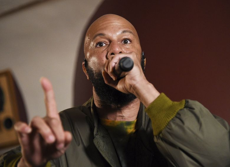 Rapper, actor and activist Common will be performing Sunday, July 14, at the Moore. (Evan Agostini / Invision / AP)