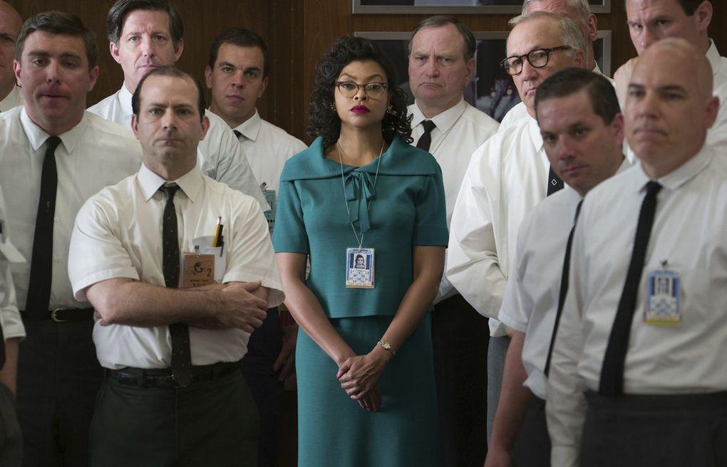 "Taraji P. Henson, center, as Katherine Johnson in ""Hidden Figures."" (Hopper Stone / Twentieth Century Fox)"