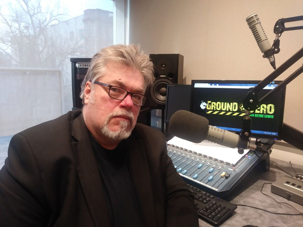 """Clyde Lewis lives in Portland and hosts """"Ground Zero,"""" an aliens- and apocalypse-minded radio show on KXL-FM (101.1). (Credit: Ron Patton / )"""