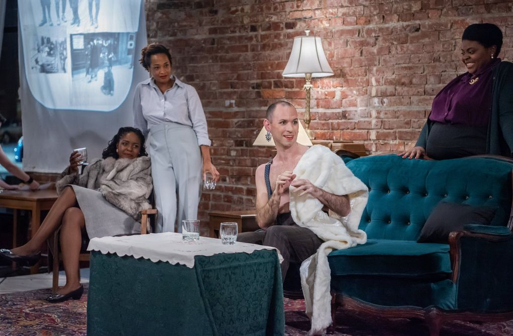 """The Williams Project brilliantly stages plays from the American canon in unusual settings. This month, they'll turn Washington Hall into a functioning bar for productions of """"Small Craft Warnings"""" by Tennessee Williams and """"The Time of Your Life"""" by William Saroyan. (Courtesy of The Williams Project)"""