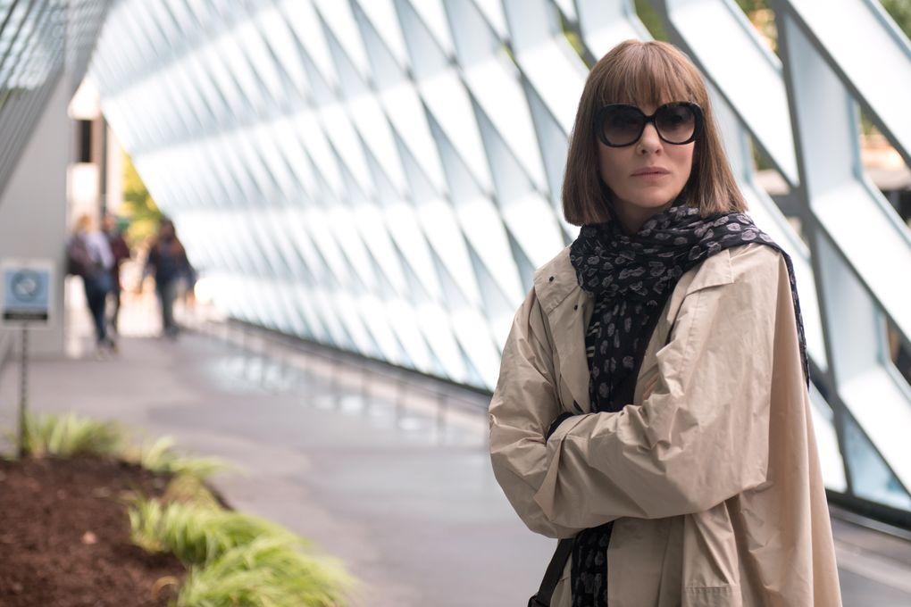 """Cate Blanchett stars as Bernadette Fox in Richard Linklater's """"Where'd You Go, Bernadette?"""" based on the set-in-Seattle novel by Maria Semple. (Wilson Webb / Annapurna Pictures)"""