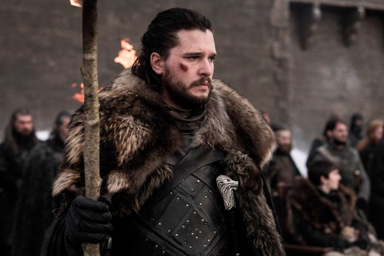 """Actor Kit Harington appears in a scene from """"Game of Thrones."""" HBO programming chief Casey Bloys says Wednesday, July 24, that there was no serious consideration to remaking the story that some viewers and critics called disappointing. (HBO via AP)"""