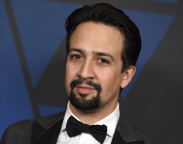"""FILE – In this Sunday, Nov. 18, 2018, file photo, Lin-Manuel Miranda arrives at the Governors Awards at the Dolby Theatre in Los Angeles. """"Hamilton"""" creator Lin-Manuel Miranda has joined protests in New York demanding the resignation of Puerto Rico's governor. Miranda led about 200 people, many from Puerto Rico, at a rally in Manhattan's Union Square on Wednesday, July 17, 2019, in New York. (Photo by Jordan Strauss/Invision/AP, File)"""