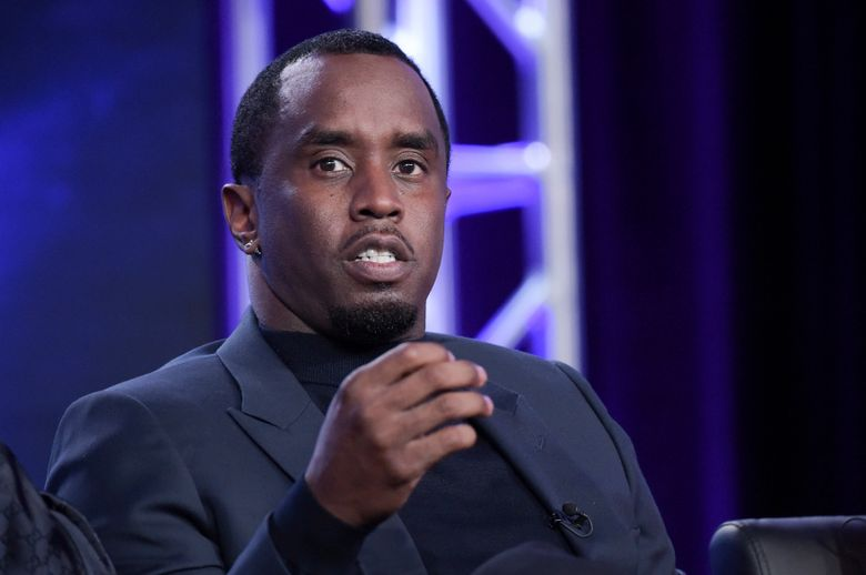 """FILE – This Jan. 4, 2018 file photo shows Sean Combs participating in """"The Four"""" panel during the FOX Television Critics Association Winter Press Tour in Pasadena, Calif. The music mogul announced Monday that the hit series, where he discovered groups including platinum-sellers Danity Kane, would return to MTV in 2020. (Photo by Richard Shotwell/Invision/AP, File)"""