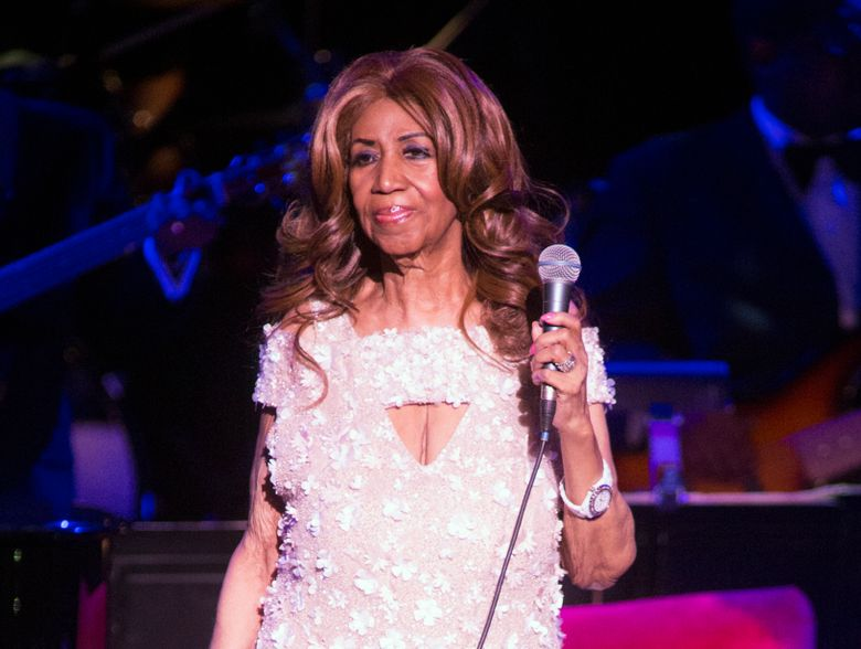 FILE – This Aug. 26, 2017 file photo shows Aretha Franklin in concert in Philadelphia. Franklin's sons disagree about who should manage what could be a multimillion-dollar estate. Attorneys for Theodore White II last week told a Michigan judge in a court filing that White should be named co-executor, or personal representative, along with Franklin's niece, Sabrina Owens. (Photo by Owen Sweeney/Invision/AP, File)