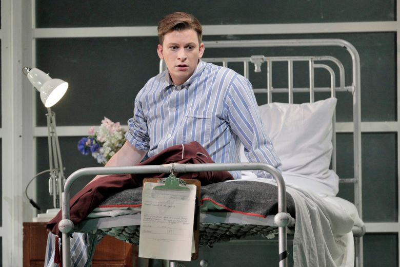 """This June 4, 2019 photo released by the  San Francisco Opera shows Aryeh Nussbaum Cohen during a production of """"Orlando"""" at the San Francisco Opera. Cohen is one of a young generation of countertenors who are popularizing a once-obscure vocal register that lies above normal tenor range and requires them to sing in falsetto or """"head voice."""" (Cory Weaver/San Francisco Opera via AP)"""