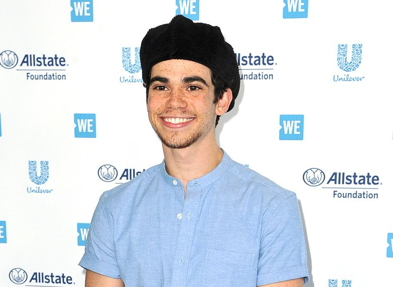 FILE – This April 25, 2019 file photo shows actor Cameron Boyce at WE Day California in Inglewood, Calif. Los Angeles coroners officials said Tuesday, July 30, 2019, that Boyce died unexpectedly from epilepsy. He was pronounced dead at his home on July 6. (Photo by Richard Shotwell/Invision/AP, File)