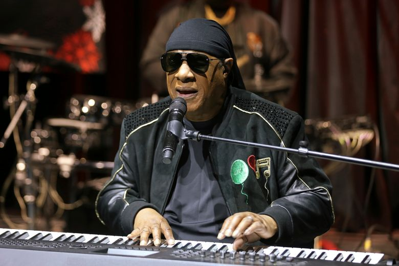 """FILE – In this Tuesday, Nov. 27, 2018 file photo, Stevie Wonder performs live at the """"House Full of Toys 22nd Annual Benefit Concert"""" press conference in Los Angeles. Wonder says he will be receiving a kidney transplant this fall. The 69-year-old music legend made the announcement to concertgoers in England on Saturday, July 6, 2019. (Photo by Willy Sanjuan/Invision/AP, File)"""