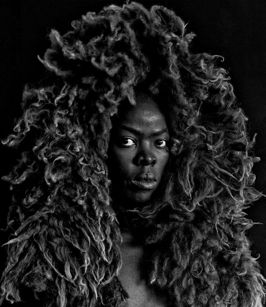 """Zanele Muholi's """"Somnyama Ngonyama II, Oslo, 2015"""" (courtesy of Stevenson, CapeTown / Johannesburg and Yancey Richardson, New York)"""