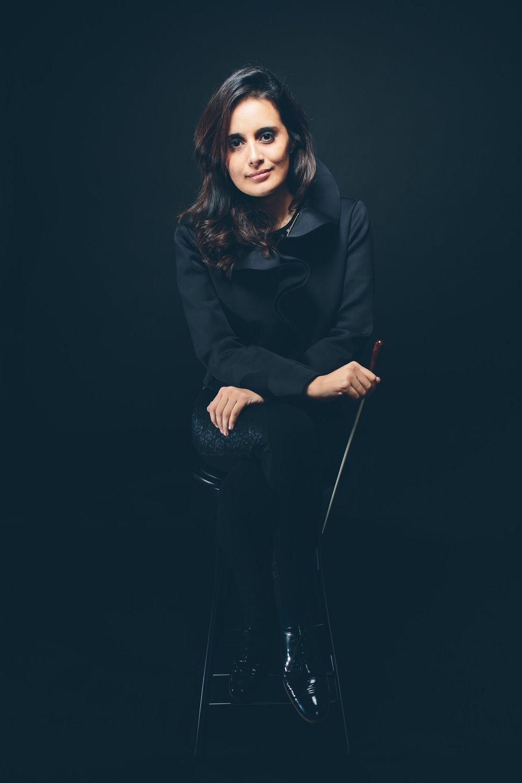 Seattle Symphony Conducting Fellow Lina Gonzalez-Granados (courtesy of Lina Gonzalez-Granados)