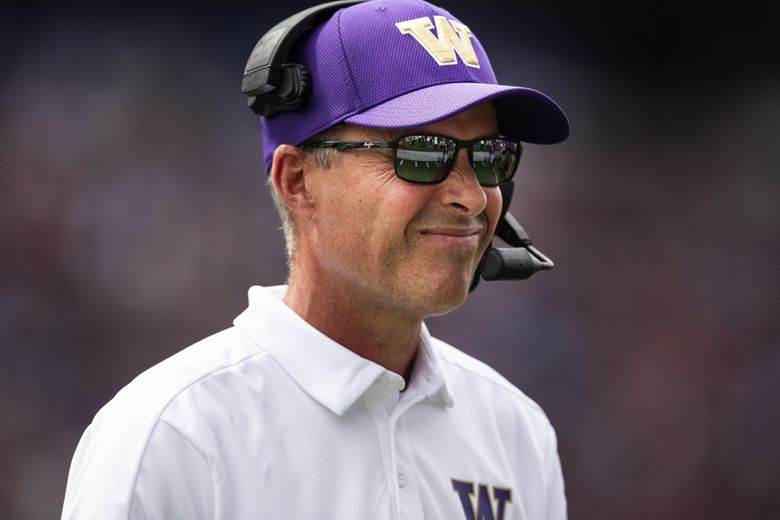 There wasn't much to dislike about Washington's play against Eastern Washington, although coach Chris Petersen will find room for improvement.  (Dean Rutz / The Seattle Times)