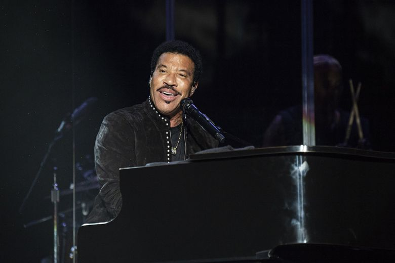 Lionel Richie, performing in Arlington, Texas, in May, is coming to Marymoor Park on Tuesday, Aug. 20. (Amy Harris / Invision / AP)