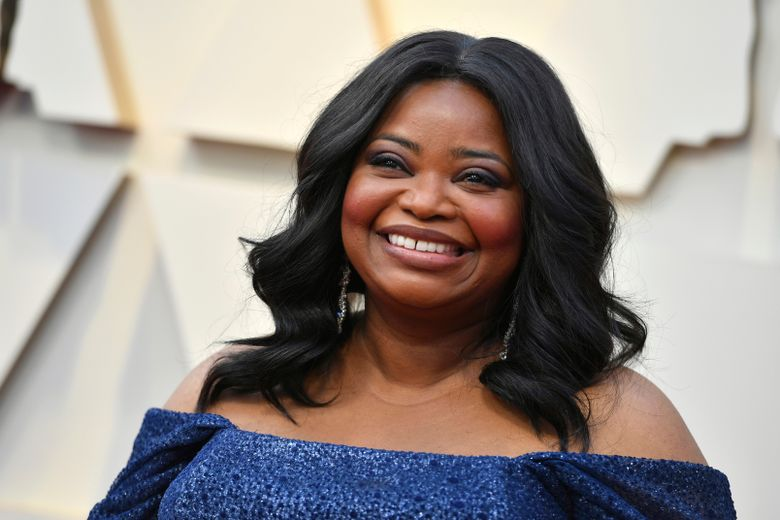 FILE – In this Sunday, Feb. 24, 2019, file photo, Octavia Spencer arrives at the Oscars at the Dolby Theatre in Los Angeles. Spencer will be honored by the Gay, Lesbian and Straight Education Network with its Inspiration Award at a gala in October 2019, in Beverly Hills, Calif. (Photo by Jordan Strauss/Invision/AP, File)