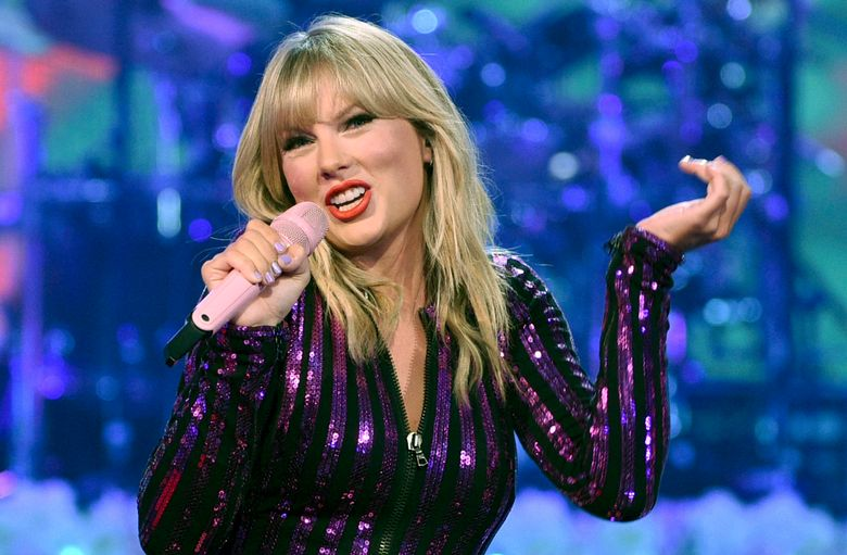 FILE – In this July 10, 2019 file photo, singer Taylor Swift performs at Amazon Music's Prime Day concert at the Hammerstein Ballroom in New York City. Prosecutors have dismissed a case against an Iowa man who was found carrying a backpack full of burglary tools when he was arrested near Swift's beachfront mansion in Westerly, R.I., on July 19. (Photo by Evan Agostini/Invision/AP, File)