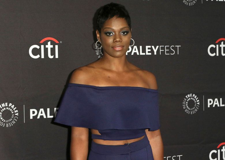 """File-This Sept. 8, 2019, file photo shows Afton Williamson attending the PaleyFest Fall TV Previews of """"The Rookie"""" at The Paley Center for Media  in Beverly Hills, Calif. Williamson, star of the ABC crime series """"The Rookie,"""" says she is quitting the show because of sexual harassment and racial discrimination she experienced during the making of the show's first season. In an Instagram post Sunday, Aug. 4, 2019,  Williamson outlined a series of claims against the show. She said she was sexually assaulted by the show's hair department head, sexually harassed by a recurring guest star and suffered bullying from executive producers. (Photo by Willy Sanjuan/Invision/AP, File)"""