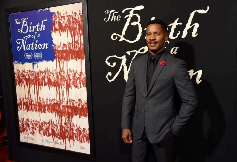 """FILE – This Sept. 21, 2016 file photo shows Nate Parker, the director, screenwriter and star of """"The Birth of a Nation"""" at the premiere of the film in Los Angeles. Parker will premiere his new film """"American Skin"""" at the Venice Film Festival, his first film since a past rape allegation derailed the release of his Nat Turner biopic """"The Birth of a Nation."""" (Photo by Chris Pizzello/Invision/AP, File)"""