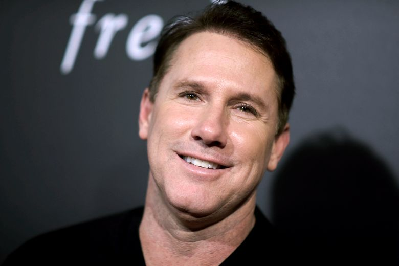 FILE – In this Feb. 1, 2016, file photo, novelist Nicholas Sparks attends a special screening in Los Angeles. The trial is getting underway, Wednesday, Aug. 14, 2019, in a lawsuit that accuses Sparks of defaming the former headmaster of a private Christian school he founded in North Carolina. (Photo by Richard Shotwell/Invision/AP, File)