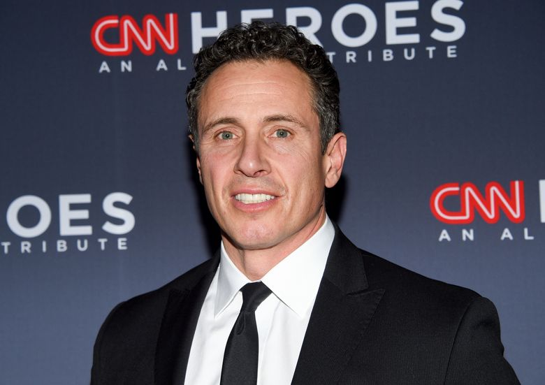 """FILE – In this Dec. 8, 2018 file photo, CNN anchor Chris Cuomo attends the 12th annual CNN Heroes: An All-Star Tribute at the American Museum of Natural History in New York.  CNN says it completely supports Cuomo after he was seen on video threatening to push a man down some stairs during a confrontation after the man apparently called him """"Fredo,"""" in a seeming reference to the """"Godfather"""" movies. The video appeared Monday, Aug. 12, 2019 on a conservative YouTube channel. (Photo by Evan Agostini/Invision/AP, File)"""