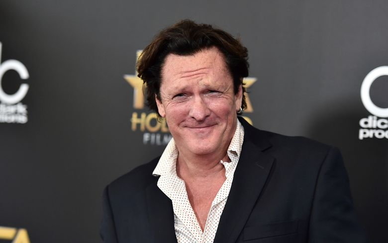"""CORRECTS TO MADSEN PLEADED NO CONTEST, INSTEAD OF PLEADED GUILTY  FILE – In this Nov. 1, 2015 file photo, Michael Madsen arrives at the Hollywood Film Awards at the Beverly Hilton Hotel in Beverly Hills, Calif. Madsen has pleaded no contest to misdemeanor drunken driving after crashing his SUV into a pole in Malibu, Calif., in March 2019. The """"Reservoir Dogs"""" actor was sentenced Thursday, Aug. 15, 2019, to four days in jail, and five years' probation. (Photo by Jordan Strauss/Invision/AP, File)"""
