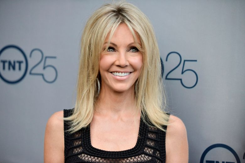 FILE – In a July 24, 2013 file photo, Heather Locklear arrives at the TNT 25th Anniversary Party at The Beverly Hilton Hotel in Los Angeles. Locklear pleaded no contest to charges that she fought with first responders during two visits to her Southern California home last year. Locklear entered the plea in Ventura County court Friday, Aug. 16, 2019, to five counts of battery on a peace officer, one count of battery on emergency personnel and two counts of resisting, obstructing or delaying a peace officer. (Photo by Richard Shotwell/Invision/AP, File)
