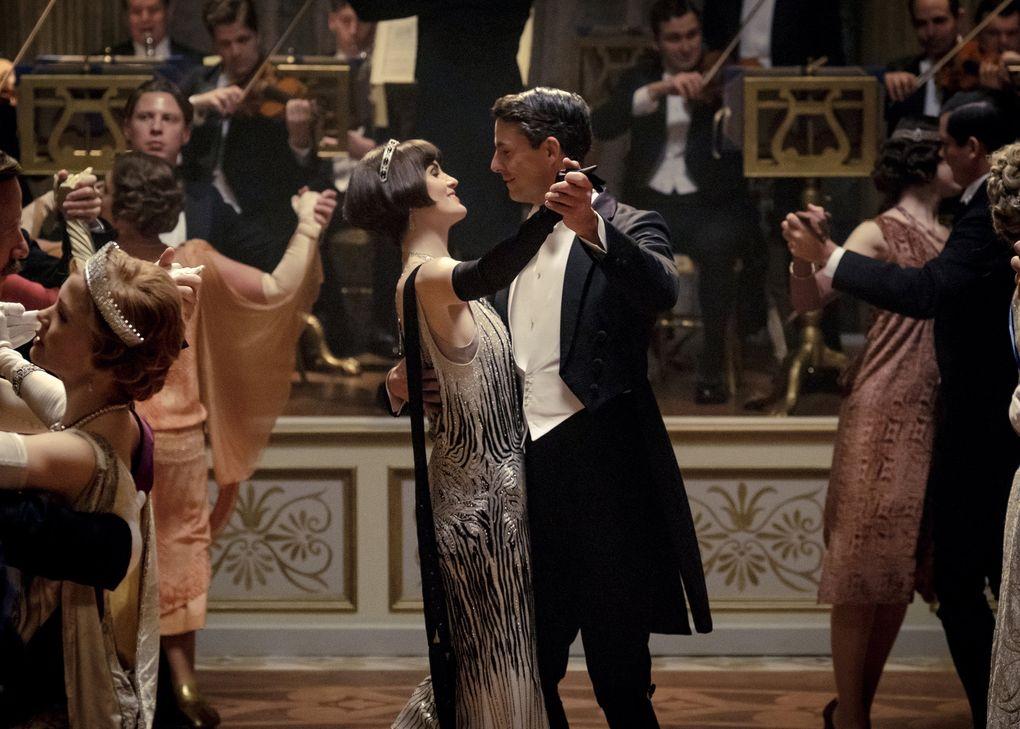 """Michelle Dockery and Matthew Goode in """"Downton Abbey."""" (Jaap Buitendijk / Focus Features)"""