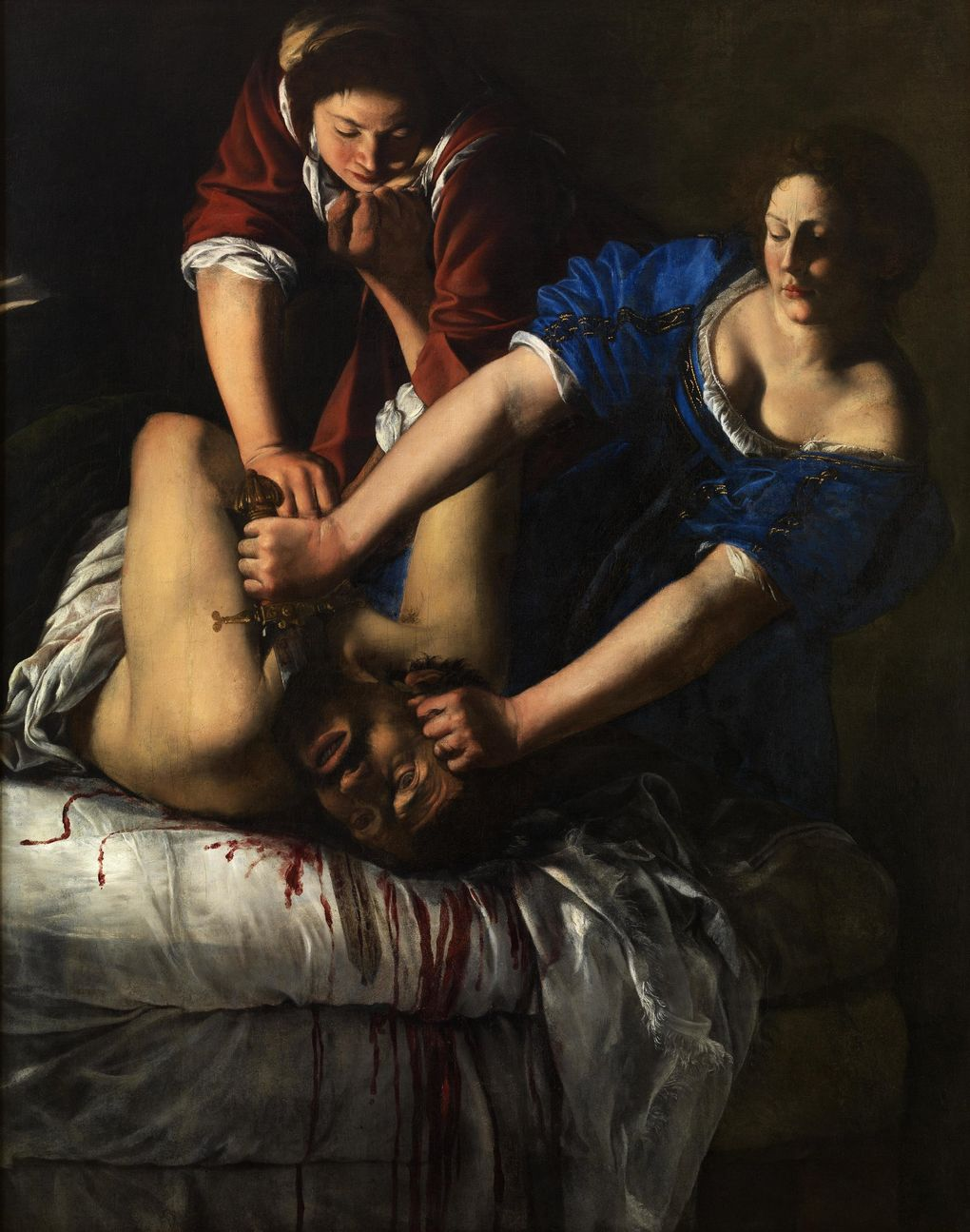 """""""Judith and Holofernes,"""" a 17th century painting by Artemisia Gentileschi, one of many treasures visiting the Seattle Art Museum from Italy this fall. (Museo e Real Bosco di Capodimonte)"""