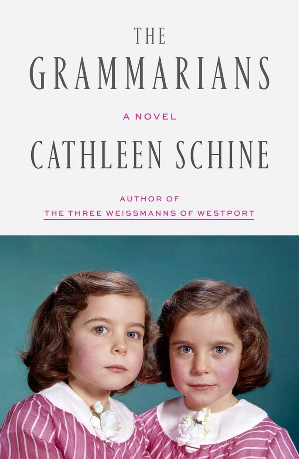 """The Grammarians"" by Cathleen Schine (Macmillan Publishers)"