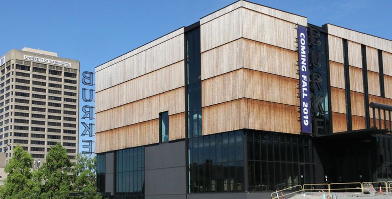 The new Burke Museum will have its grand opening Oct. 12-14. (Alan Berner / The Seattle Times)