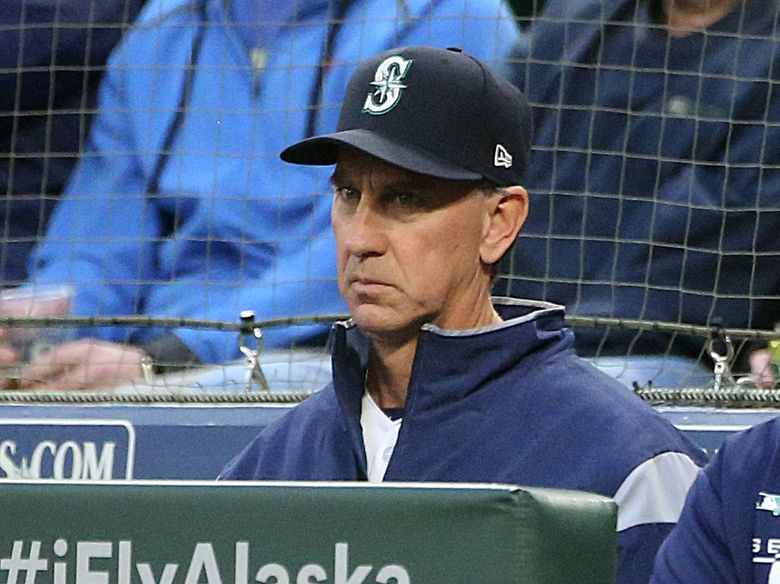 The Mariners will reassign pitching coach Paul Davis to another role within the organization. (Ken Lambert / The Seattle Times)