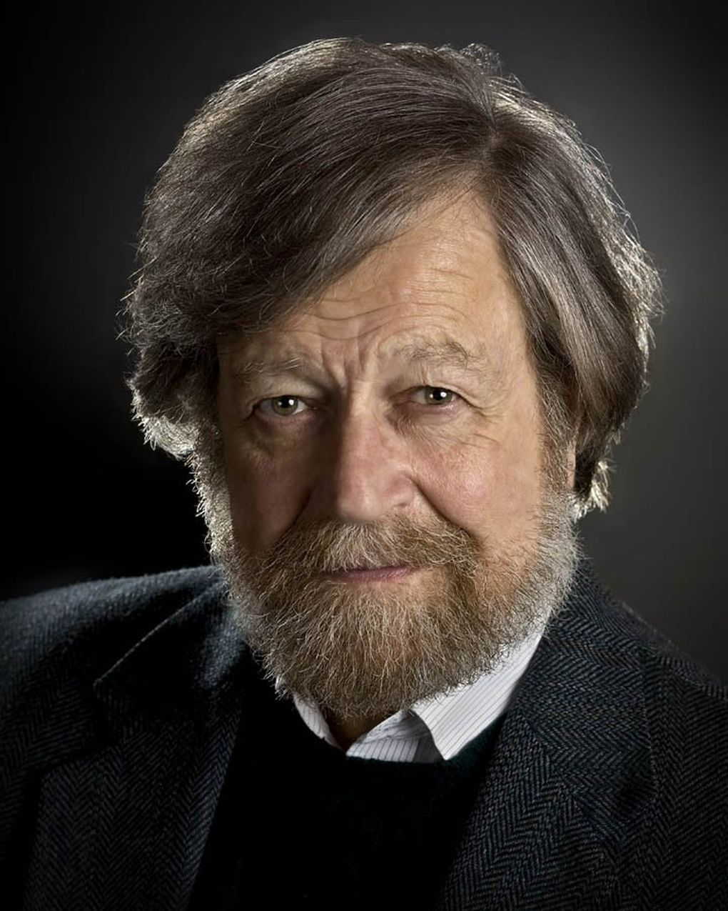 """""""I'm trying to write music that goes very deep into other people's hearts,"""" says composer Morten Lauridsen. (Courtesy of Morten Lauridsen)"""