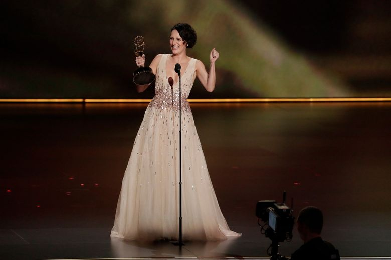 Poebe Waller on stage at the 71st Primetime Emmy Awards at the Microsoft Theater in Los Angeles on Sunday, Sept. 22, 2019.