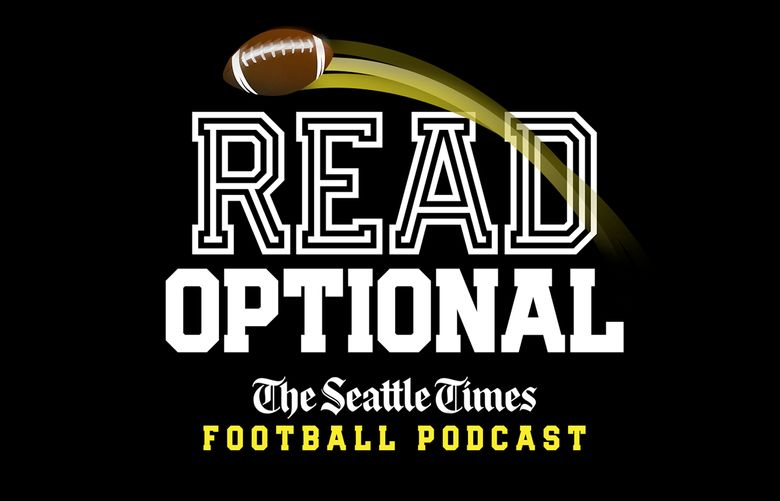 Read Optional podcast logo. (Rich Boudet / The Seattle Times)