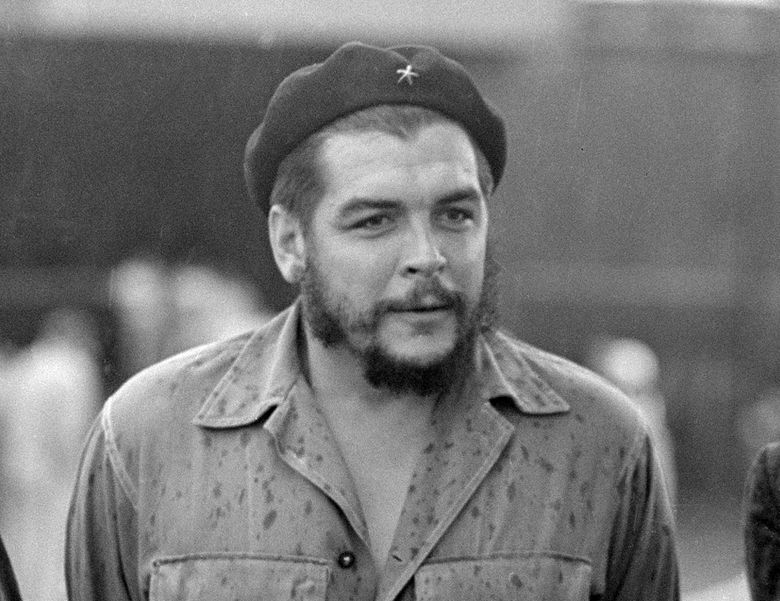 """FILE – This June 12, 1962 file photo shows Cuban revolutionary leader Ernesto """"Che"""" Guevara in Havana, Cuba. A book of letters by Ernesto Che Guevara is coming out in English in the Fall of 2021. """"Letters 1947-67"""" will be released in the U.S., Seven Stories announced Thursday, Sept. 19, 2019, and will include an introduction by his daughter Aleida Guevara.  (AP Photo/Tony Ortega, File)"""