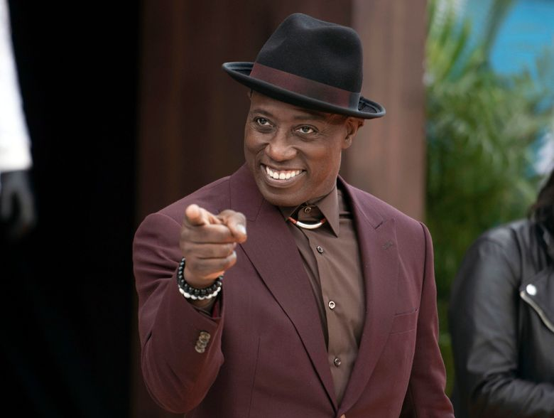 """FILE – This Sept. 28, 2019 file photo shows Wesley Snipes at the LA premiere of """"Dolemite is My Name"""" in Los Angeles. The news that another actor was cast as vampire hunter Blade came as a surprise to Wesley Snipes, who portrayed the character in three successful films, but he says' he's moving on. Marvel Studios announced at this summer's Comic-Con that the Oscar winner Mahershala Ali would play the comics character in its blockbuster cinematic universe. (Photo by Richard Shotwell/Invision/AP, File)"""
