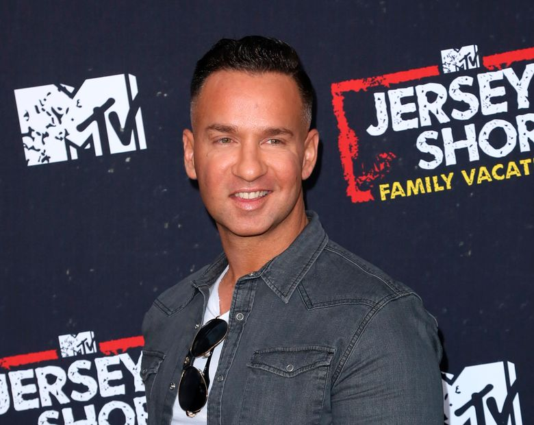 """FILE – This March 29, 2018 file photo shows Mike """"The Situation"""" Sorrentino at the premiere of """"Jersey Shore Family Vacation""""  in Los Angeles. Sorrentino is scheduled to be released from prison in Otisville, New York, on Thursday, according to the Federal Bureau of Prison's website. He and brother pleaded guilty last year to tax offenses related to nearly $9 million in income. (Photo by Willy Sanjuan/Invision/AP, File)"""