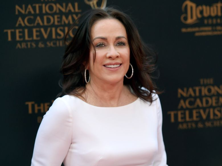 """FILE – In this April 29, 2016 file photo, Patricia Heaton arrives at the Daytime Creative Arts Emmy Awards at the Westin Bonaventure Hotel in Los Angeles. Heaton, known for playing homemakers in """"Everybody Loves Raymond"""" and """"The Middle,"""" is taking on a workplace comedy now, starring as an empty-nester who decides to pursue a medical career in CBS' """"Carol's Second Act."""" Heaton is also executive producer of the sitcom, which she's found daunting but fulfilling. She considers it vital to keep challenging yourself. The show airs Thursday, Sept. 26, 2019. (Photo by Chris Pizzello/Invision/AP, File)"""