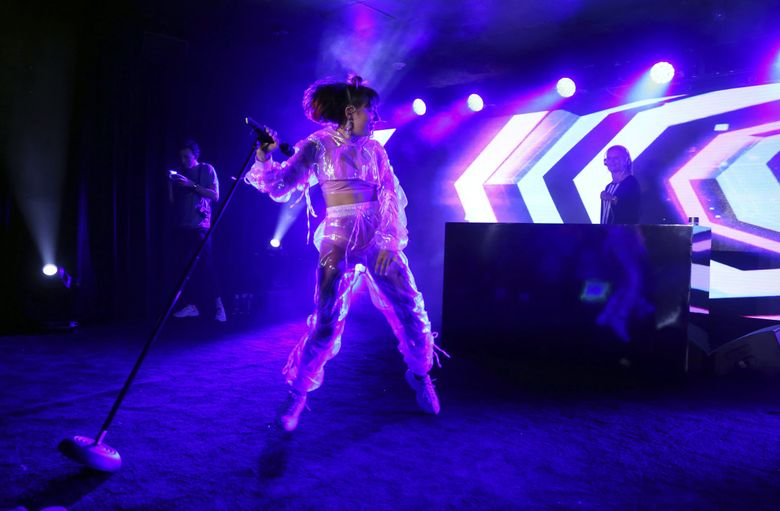 Ready to dance? Charli XCX will be performing Oct. 4 at the Showbox. (Danny Moloshok / Invision / AP, 2018)