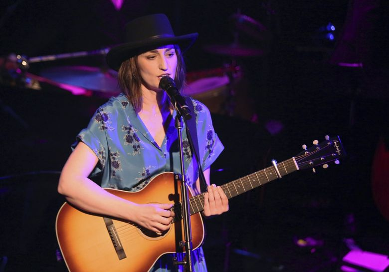 Sara Bareilles, performing March 19 at the Troubadour in West Hollywood, is coming to WaMu on Oct. 22. (Willy Sanjuan / Invision / AP)