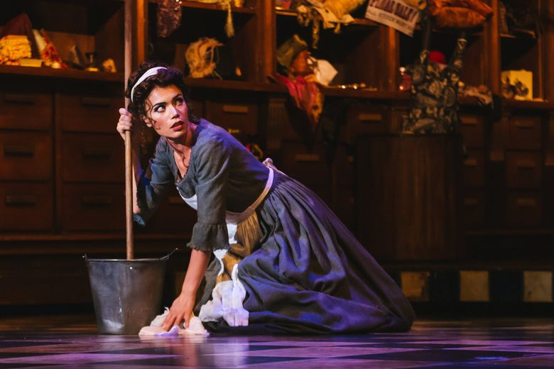 """Ginger Costa-Jackson as the title character in Seattle Opera's """"Cinderella."""" (Sunny Martini)"""