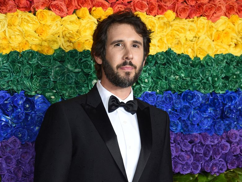 FILE – This June 9, 2019 file photo shows Josh Groban at the 73rd annual Tony Awards in New York. The Madison Square Garden Company (MSG) announced Tuesday, Oct. 8, that Groban will debut a one-of-a-kind residency at New York's iconic Radio City Music Hall beginning in 2020. The series will kick off on Feb. 14, 2020, and continue on April 18, with tickets for the first two shows going on sale on Friday, October 11. (Photo by Evan Agostini/Invision/AP, File)
