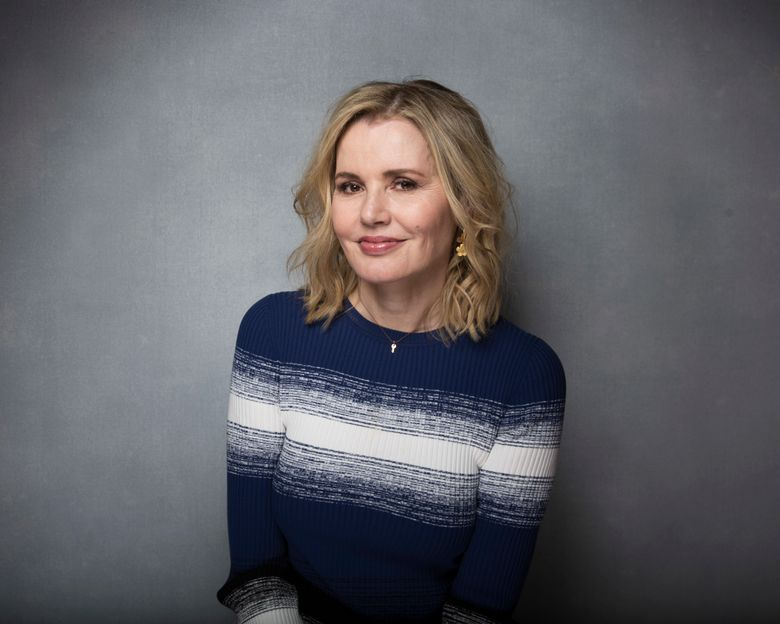 """FILE – This Jan. 23, 2017 file photo shows actress Geena Davis posing for a portrait to promote the film, """"Marjorie Prime"""" during the Sundance Film Festival in Park City, Utah. Davis will receive an honorary Oscar on Sunday at the annual Governors Awards. (Photo by Taylor Jewell/Invision/AP, File)"""
