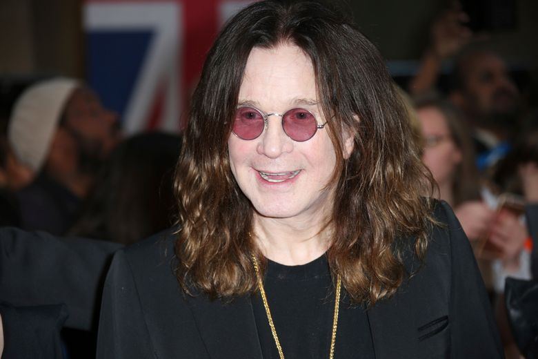 FILE – In this Sept. 28, 2015 file photo, Ozzy Osbourne arrives at the Pride of Britain Awards 2015 in London. Osbourne says he's going off the rails on a crazy train while stuck at home with health woes, but plans to be back on track soon. The 70-year-old says he'll have to cancel European tour dates that had been scheduled for January and February, but he's recovering enough that he's keeping North American tour dates that start in May. (Photo by Joel Ryan/Invision/AP, File)